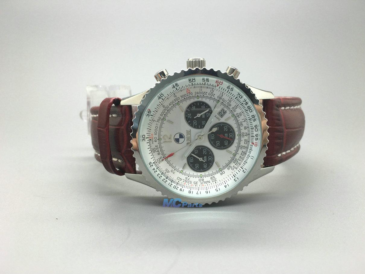 sport montres pour homme cuir bracelet montre quartz pr bmw x5 x6 m auto w1 ebay. Black Bedroom Furniture Sets. Home Design Ideas